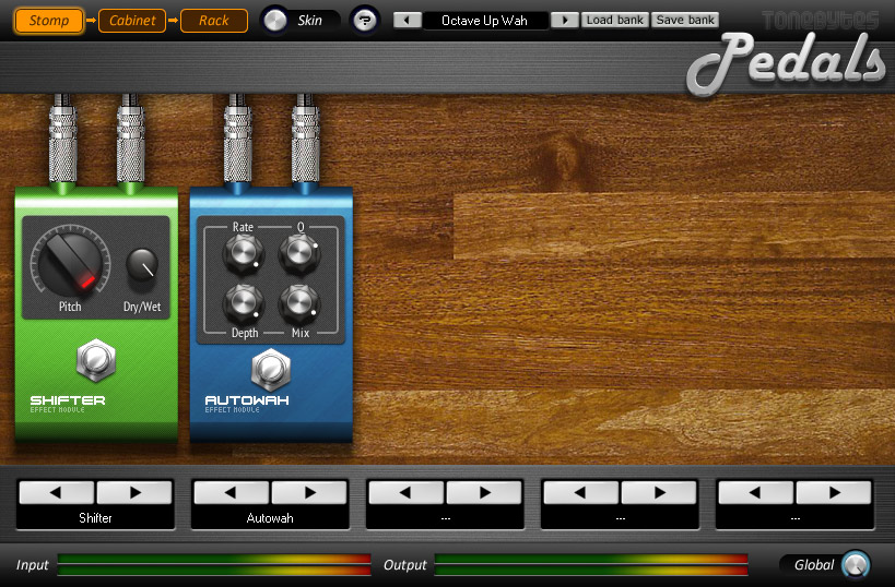 Virtual guitar amp with a more than 30 dev's