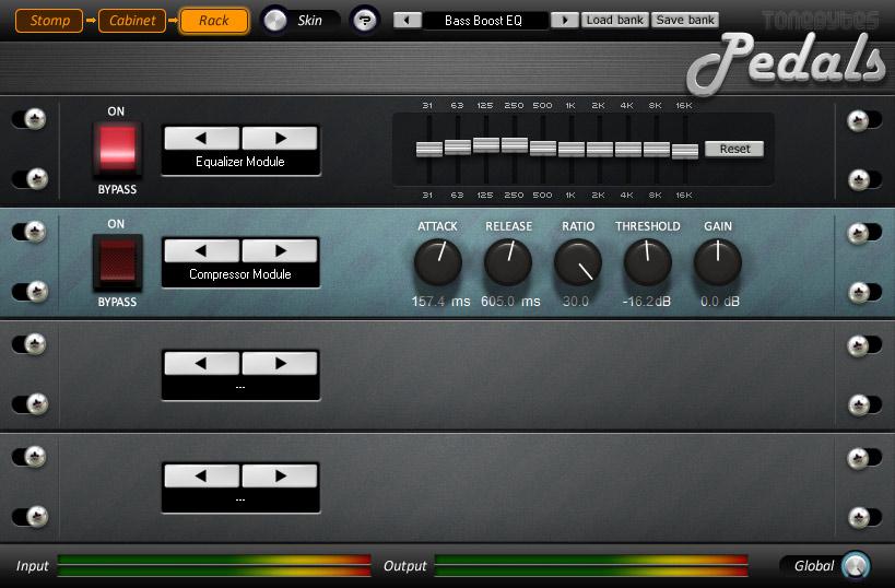 ToneBytes » Pedals - free guitar amp VST plugin